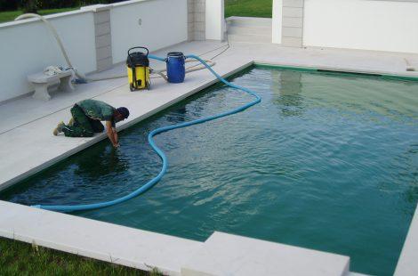 Schwimmteichpflege