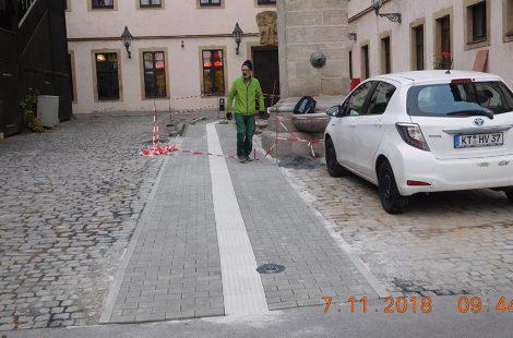 Erstellung eines behindertengerechten Zugangs zur Jugendherberge Würzburg